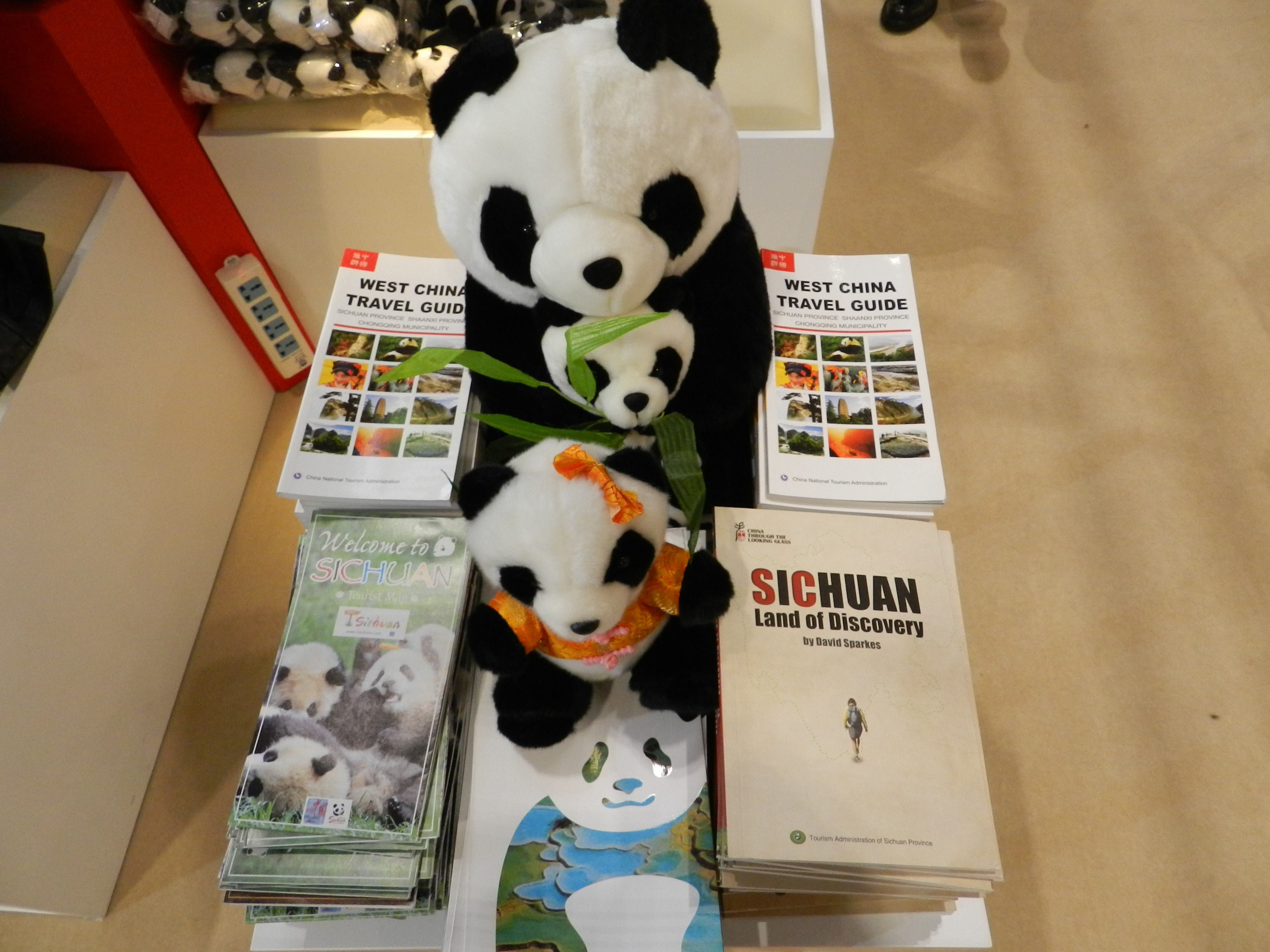 天府四川 熊猫故乡 亮相2014伦敦国际旅展